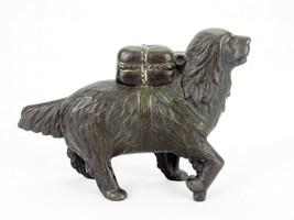 St. Bernard Rescue Dog Cast Iron Still Bank, A.C. Williams, Vintage Circ... - $97.95