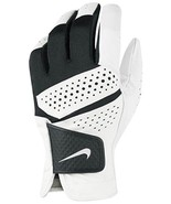 Nike Tech Xtreme Men's Regular MediumLeft Hand Golf Glove Black/White NEW - $17.12