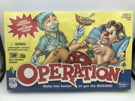 Hasbro Operation 2012 Board Game - Large Openings, Easy Grab Pieces - $24.74