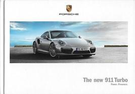 2016/2017 Porsche 911 TURBO sales brochure HARDCOVER book catalog US 17 ... - $25.00