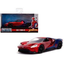 2017 Ford GT Spider-Man Theme Marvel Series 1/32 Diecast Model Car by Ja... - $16.74