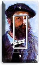 Claude Monet Self Portrait Painting 1 Gfi Switch Outlet Wallplate Room Art Decor - $8.99