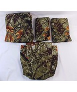 Mainstays Soft Microfiber King Size Fitted Sheet & 2 Pillowcases Camo Ca... - $29.69