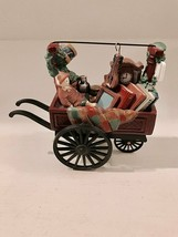 Dept 56-Heritage Village Collection Chelsea Mkt Curiosities Monger &Cart... - $12.19