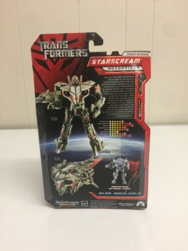 Transformers 2007 Movie Preview starscream Decepticon New In Package age 5+ image 3