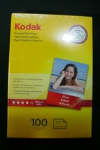 KODAK Premium Photo Paper Gloss 4x6 100 count - $9.90