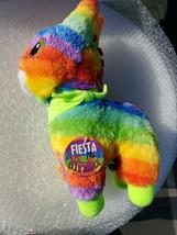 "Fiesta The Pinata Donkey Tie Dye Plush Stuffed Animal 14"" Tall New - $13.85"