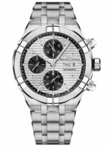 AUTHORIZED DEALER Maurice Lacroix Aikon AI6038-SS002-132-1 Men's 44mm Watch - $2,960.10