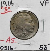 1914S Buffalo Nickel 5¢ Coin Lot# A 620