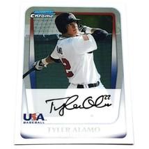 Mlb Tyler Alamo Team Usa 2011 Bowman Chrome Baseball #92 Nmnt - $1.16