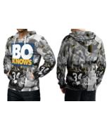 BO JACKSON BO KNOWS Full print 3D All Over Print Pullover Hoodie For Men - $33.75+
