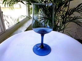 Lenox Blue Mist Crystal Water Goblet c1974 - 1985 - $20.00