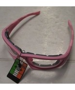 Radians Crossfire 24264AF MP7 Pink Foam Lined Safety Glasses Clear Anti-... - $7.43