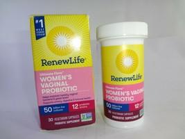 Renew Life Ultimate Flora Women's Vaginal Probiotic - 30 Capsules - $23.71