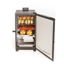 "Electric Smoker Grill 30"" Meat BBQ Outdoor Insulated Cooker w/ Digital C... - £188.77 GBP"