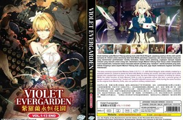 Violet Evergarden (Vol.1-13 End) English Dub Ship from USA