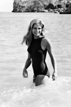 Candice Bergen in Swimsuit in Surf 18x24 Poster - $23.99