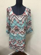 Charlotte Russe Womens Sz M Mini Dress Multi Color Long Sleeve Short Lac... - $8.76