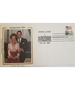 FDC 40th President Ronald and Nancy Reagan Inauguration Day 1985 Coloran... - $4.95