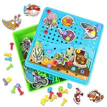 Kidcheer Preschool Puzzle Toys Set, 115 PCS Board Games Best Gift for Bo... - $24.34
