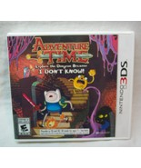 ADVENTURE TIME Explore the Dungeon Because I Don't Know Nintendo 3DS VID... - $14.85