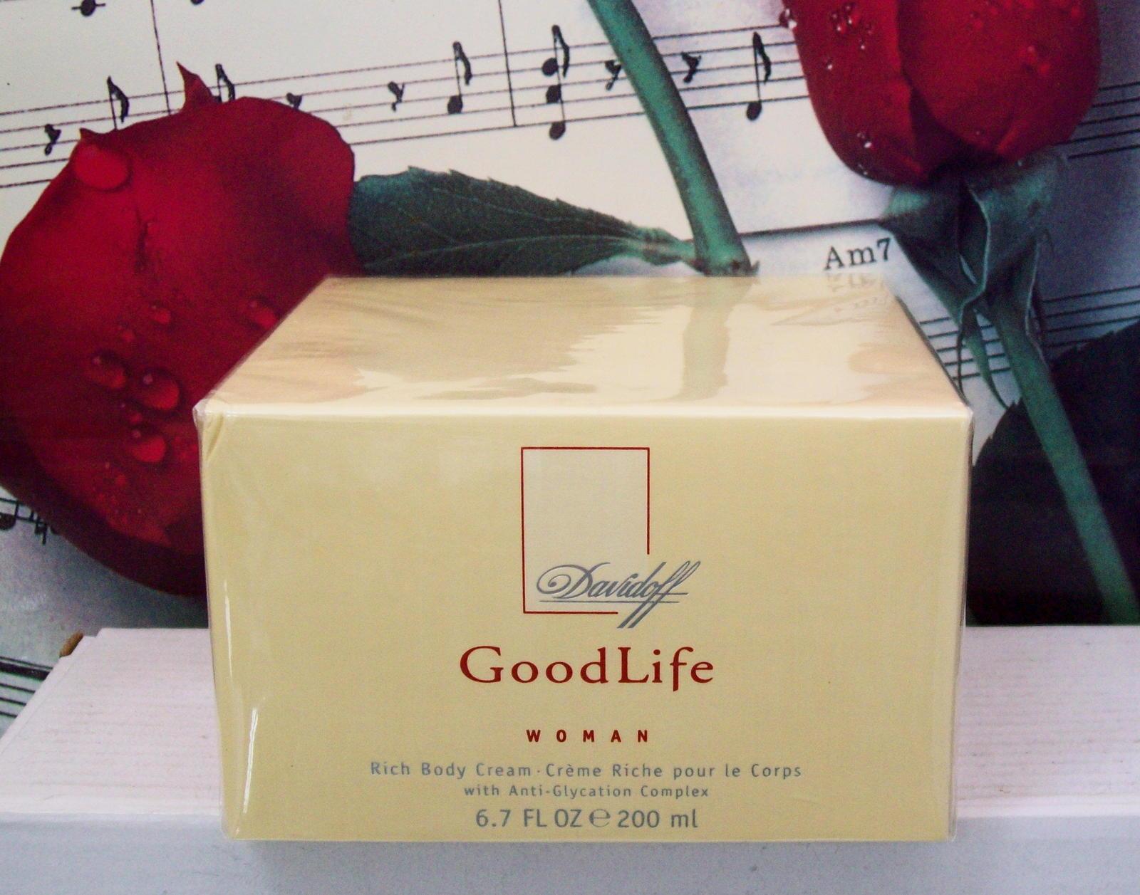 Davidoff Good Life Woman Body Cream 6.7 FL. OZ. NWB - $99.99