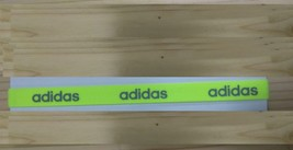 New Unisex Adidas Running HEADBAND Neon Green Adidas Logo One Size All S... - $6.00