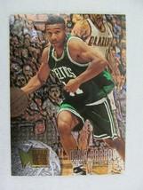Dana Barros Boston Celtics 1996 Fleer Basketball Card Number 127 Metal - $0.98