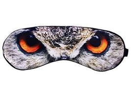 Creative Silk Cartoon Eye Mask Eye Shade Blindfold Shade Cover For Sleep OWL