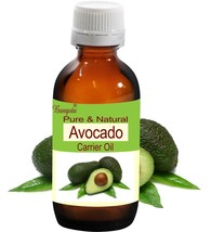 Avocado Pure Natural Carrier Oil Cold Pressed 100ml Persea Americana by Bangota - $17.61
