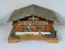 "Pauline Ralph Cottage Reuge Swiss Movement Music Box ""The Emperor Waltz"" Vintage - $29.95"