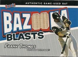 2004 Topps Bazooka Blasts Bats #BB-FT Frank Thomas Chicago White Sox Card - $9.50