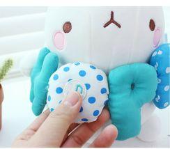 Molang Melody Plush Figure Toy Stuffed Animal Rabbit Cushion 9.8 inches (Blue) image 4