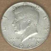 1964 JFK Half Dollar 90% Silver - $15.83