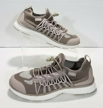 Keen Uneek EXO Mid Top Sneakers Toggle Laces Womens Size 9.5 Taupe White 1018773 - $60.73
