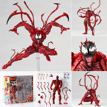 PVC Yamaguchi Marvel Carnage Red Venom Action Figure Model Toy Gift Col... - $26.99
