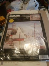 "Janlynn ""Harborside"" Counted Cross Stitch Kit 102-12  [13""× 11""] New in ... - $19.75"