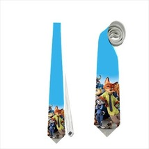 necktie tie zootopia zootropolis fox bunny sloth - $22.00