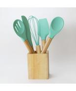 Silicone Cooking Utensils Kitchen Utensil Set - $18.00