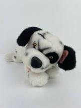VTG DISNEY PARKS STORE 101 DALMATIONS LUCKY PLUSH PUPPY DOG BLUE COLLAR ... - $12.86