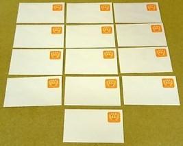 USPS Scott U604 5.2c Envelope Lot of 16 Non Profit Organization Orange - $11.66
