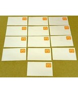 USPS Scott U604 5.2c Envelope Lot of 16 Non Profit Organization Orange - $11.66