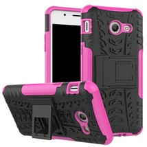 Defender Kickstand Protective Case for Samsung Galaxy J5 (2017) - Hot pink  - $4.99