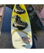 Vintage 90s Evolution Wakeboard Skurf Skurfer Ski Board With Bindings Ye... - $222.71