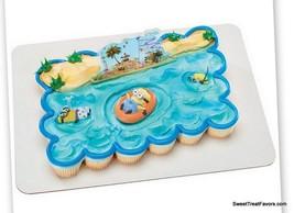 Despicable BIRTHDAY Party Minions Supplies Cake Topper Cupcake Beach Fav... - $9.85