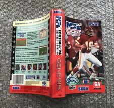 NFL Football 94 Starring Joe Montana **ORIGINAL CASE/BOX ART ONLY** Sega... - $4.27