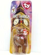 Britannia The Bear 1999 McDonald's Ty Beanie Baby With Rare Errors 1993,... - $21.76