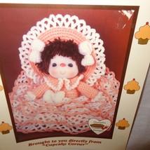 Peach Taffy Pattern Cupcake Corner Dumplin Designs Crochet 1985 UP 8 - $9.99