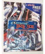 Extreme Book Sox Cover Mechanical Stretch Fabric & Free Portfolio NIP - $12.86