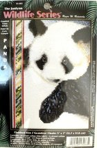 "Janlynn Wildlife Series 'Panda' Cross Stitch 5"" x 7"" - $28.41"